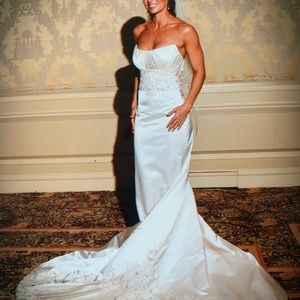 Reem Acre showstopper wedding gown